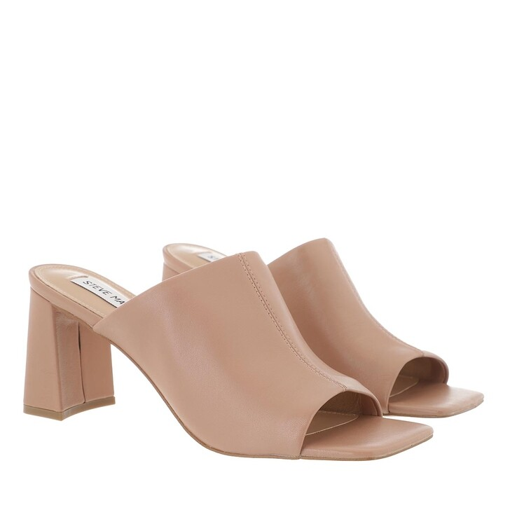 shoes, Steve Madden, Lizo Mule Leather Rose
