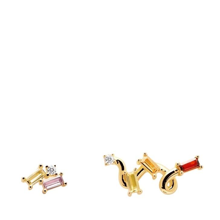 earrings, PDPAOLA, Zaza Earring Yellow Gold
