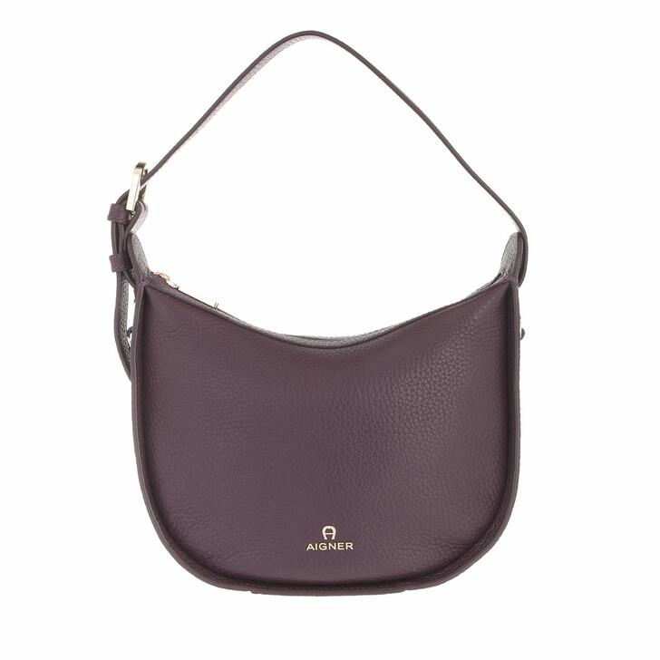 bags, AIGNER, Ivy Crossbody Bag Plum