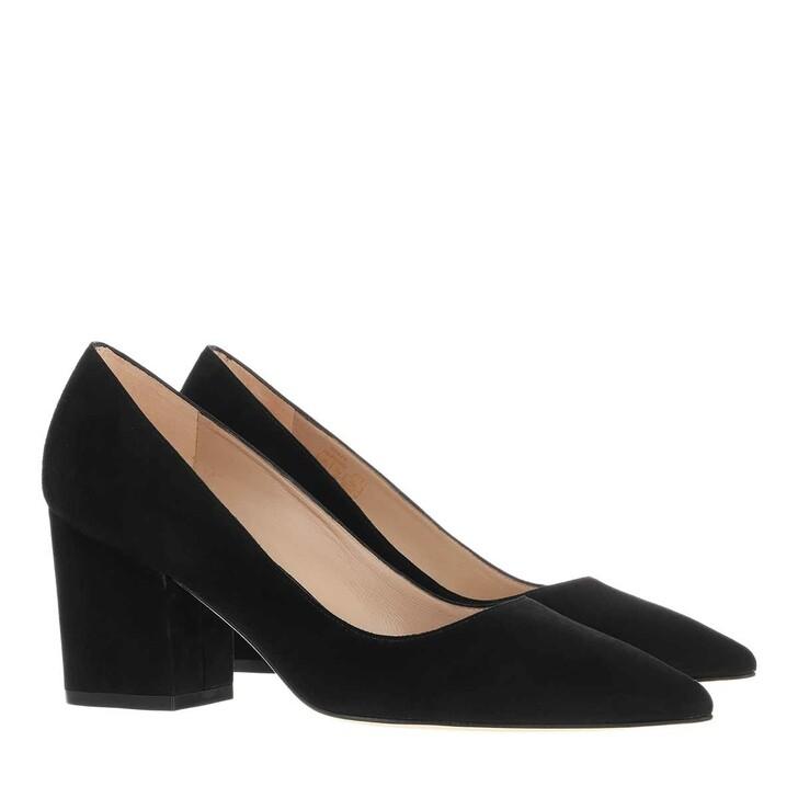 shoes, Stuart Weitzman, Luna 75 Black