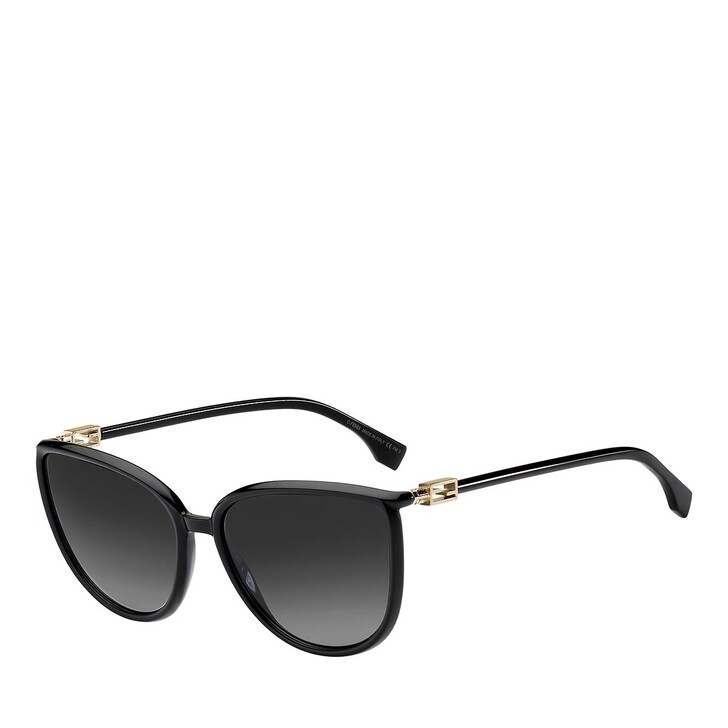sunglasses, Fendi, FF 0459/S BLACK