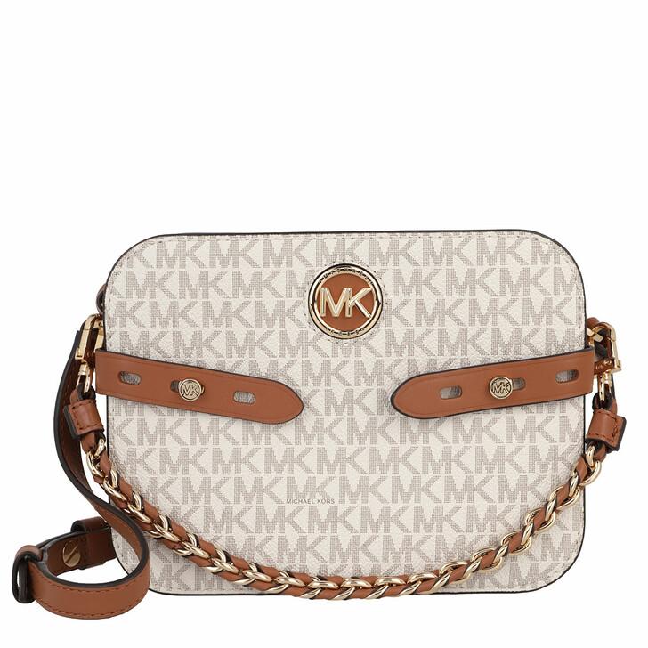 bags, MICHAEL Michael Kors, Large Camera Xbody Vanilla/Acorn