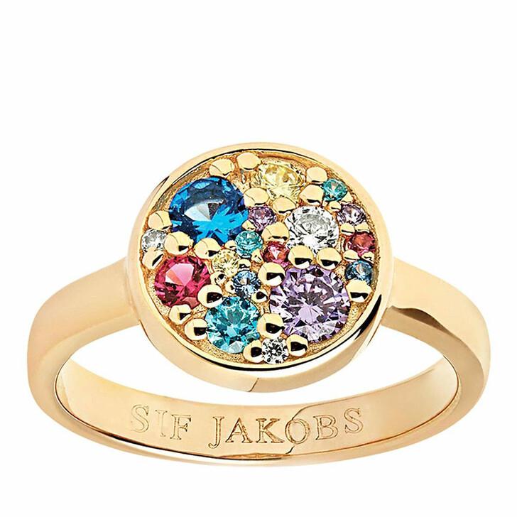rings, Sif Jakobs Jewellery, Novara Ring 18K Yellow Gold Plated