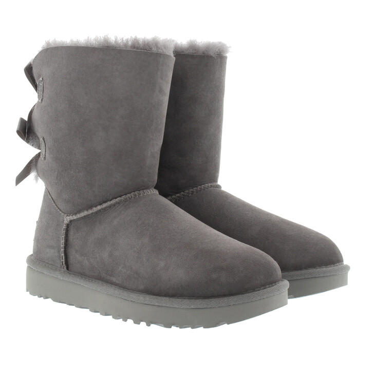 Schuh, UGG, W Bailey Bow II Grey