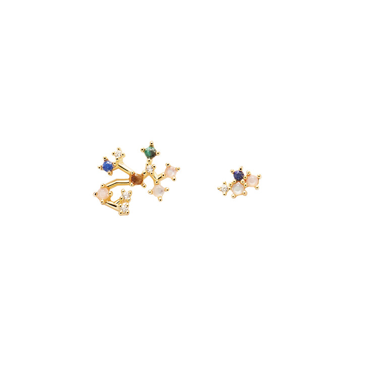 Ohrring, PDPAOLA, Earring SAGITTARIUS Yellow Gold