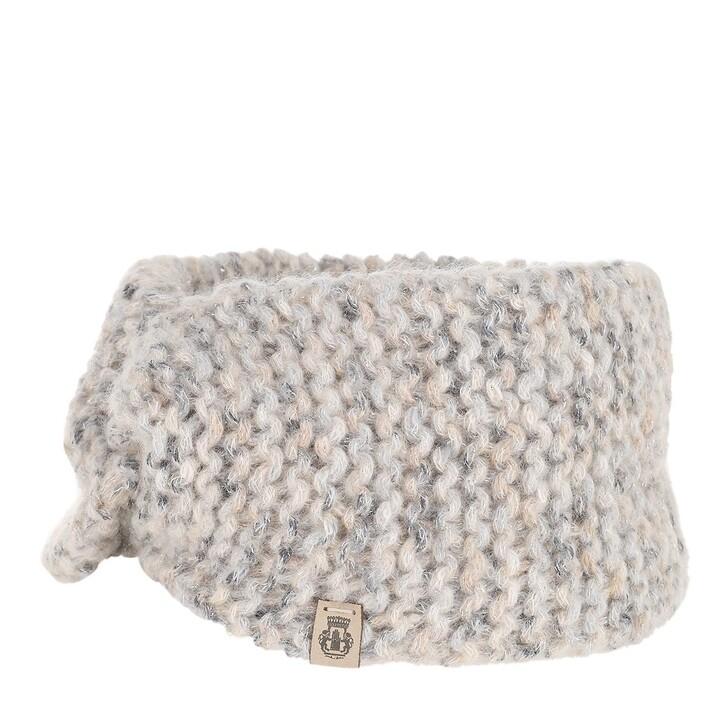 Schal, Roeckl, Magic Wool Headband Creme Silver