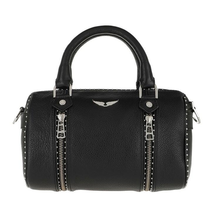 Reisetasche, Zadig & Voltaire, XS Sunny Graine Travel Bag Black