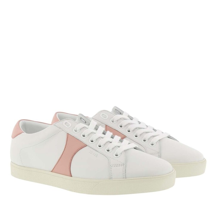 Schuh, Celine, Triomphe Low Lace Up Sneaker White/Pink