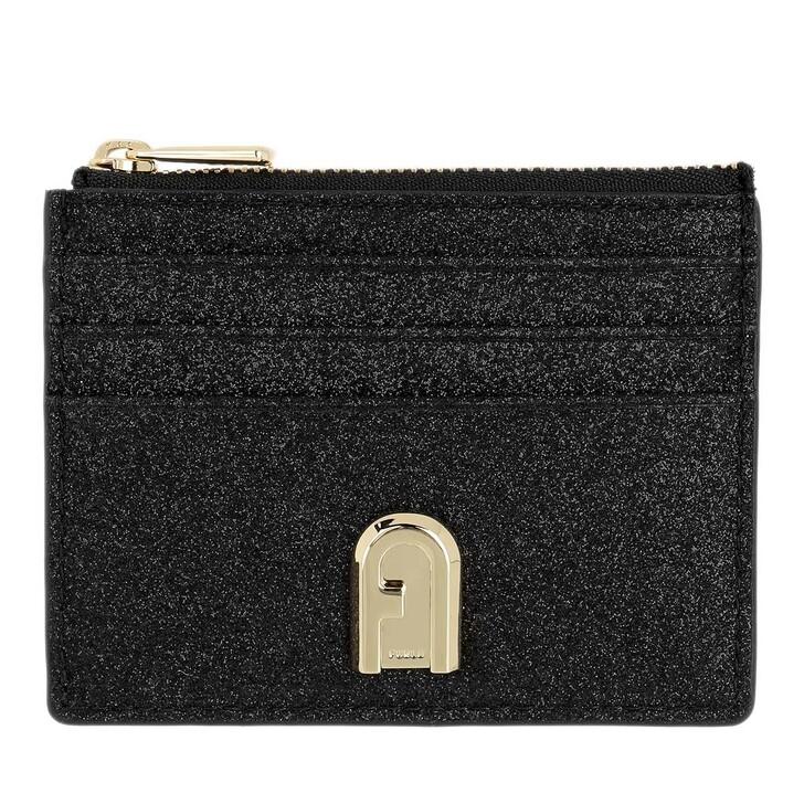 Geldbörse, Furla, 1927 Small Zip Card Case Black