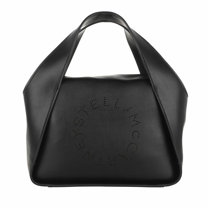 bags, Stella McCartney, Medium Tote Bag Eco Soft Alter Black