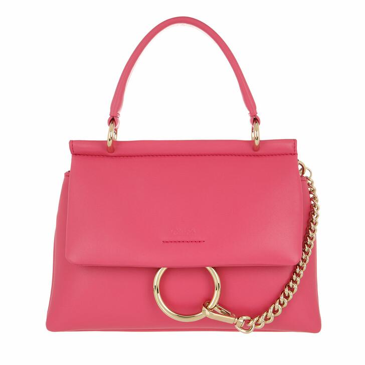 bags, Chloé, Small Faye Soft Top Handle Bag Hot Pink