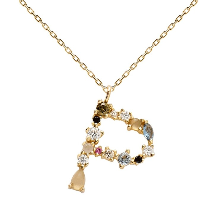 Kette, PDPAOLA, P Necklace Yellow Gold