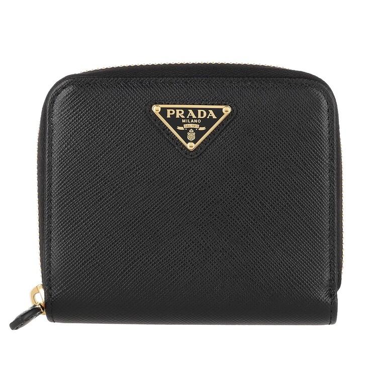 Geldbörse, Prada, Wallet Black