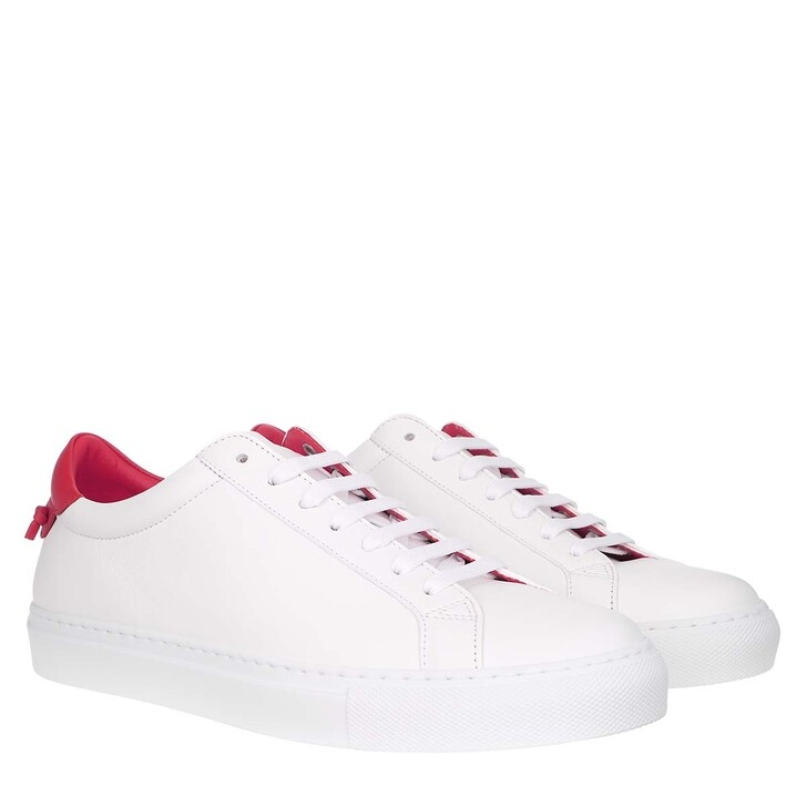 Schuh, Givenchy, Urban Street Sneaker White/Red