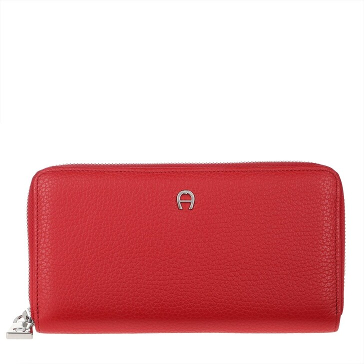 Geldbörse, AIGNER, Wallet Burnt Red
