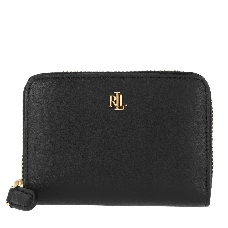 Geldbörse, Lauren Ralph Lauren, Small Zip Wallet Small Black/Crimson