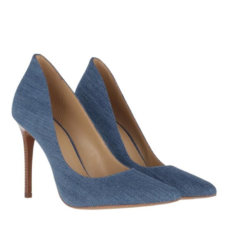 shoes, MICHAEL Michael Kors, Keke Pumps Light Denim
