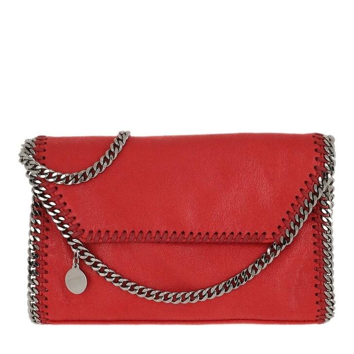 Handtasche, Stella McCartney, Falabella Shaggy Deer Mini Shoulder Bag Lipstick