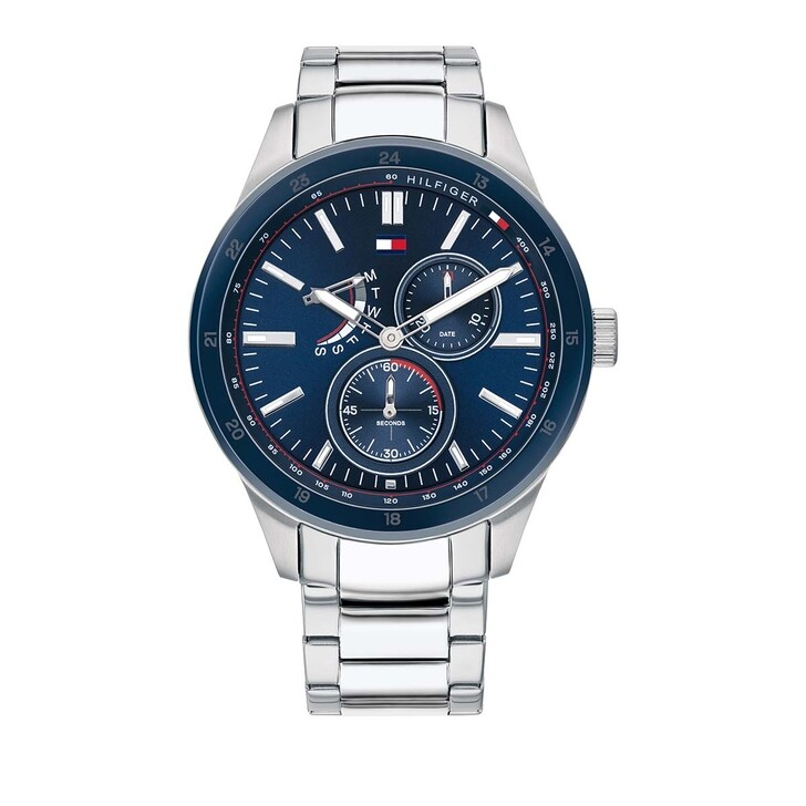 Uhr, Tommy Hilfiger, Multifunctional Watch Austin 1791640 Silver