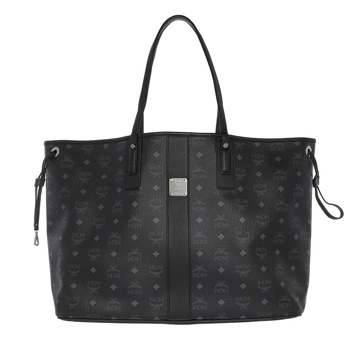 Handtasche, MCM, Large Liz Reversible Shopper Black