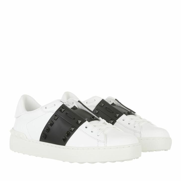 shoes, Valentino Garavani, Bicolor Sneakers White Black