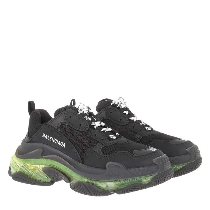 Schuh, Balenciaga, Triple S Sneaker Black/Yellow