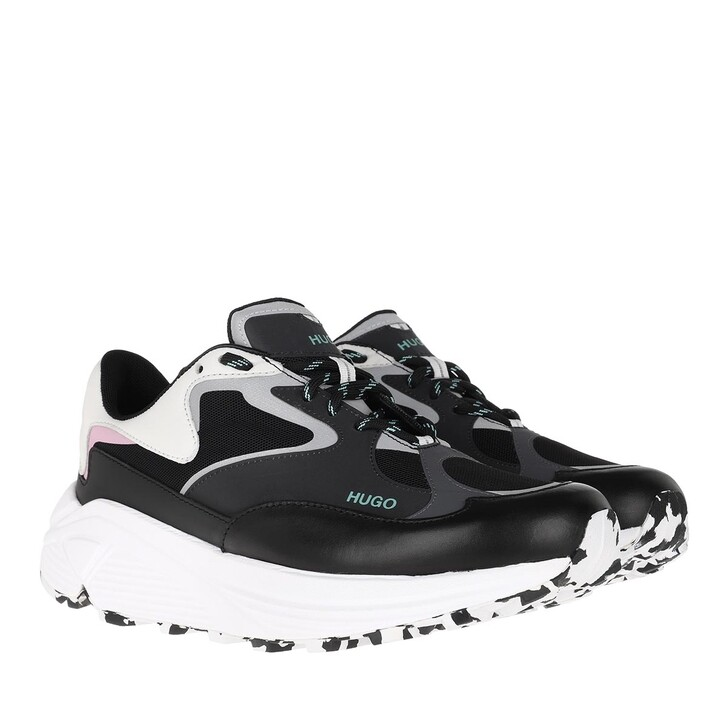 Schuh, Hugo, Horizon Runn Sneaker Black