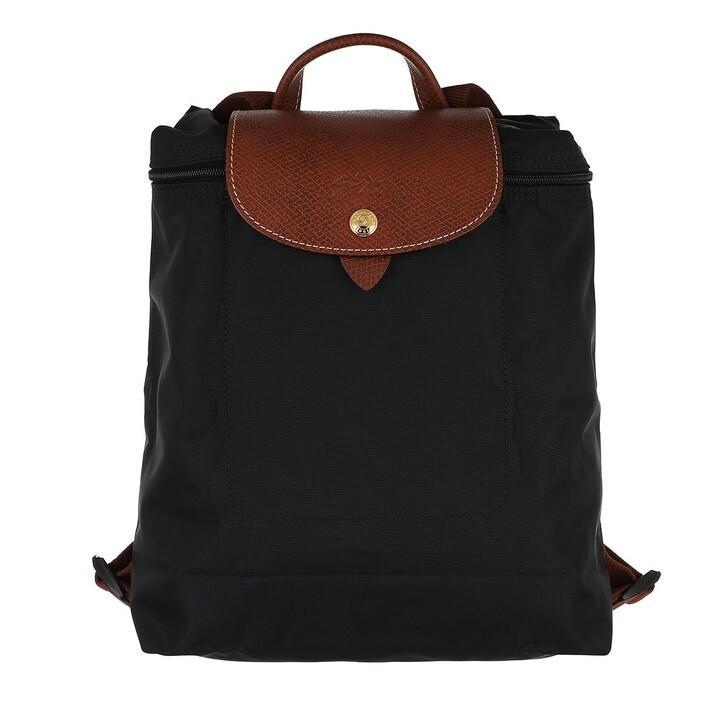 bags, Longchamp, Le Pliage Original Backpack  Black