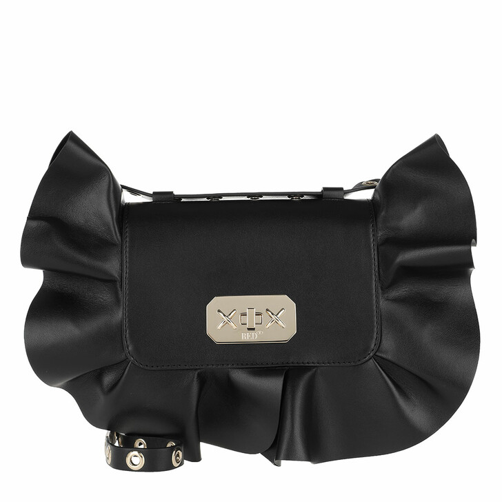 Handtasche, Red Valentino, Cross Body Bag Nero