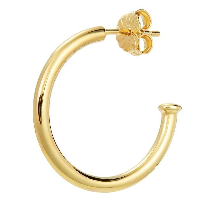 Ohrring, BELORO, Earring Hoop Yellow Gold