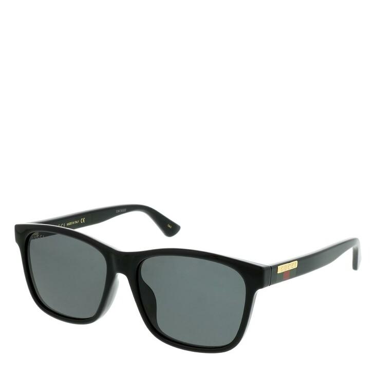 sunglasses, Gucci, GG0746SA-001 57 Sunglasses Black-Black-Grey