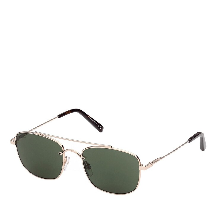 Sonnenbrille, Bally, BY0030 Shiny Rose Gold/Green