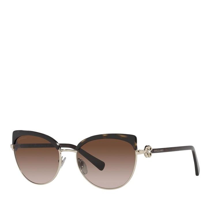 Sonnenbrille, BVLGARI, 0BV6158B PALE GOLD/HAVANA