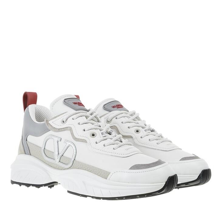 Schuh, Valentino Garavani, Shegoes Sneakers White/Rose