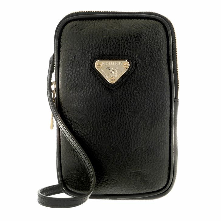 smart_cases, Maison Mollerus, Wildhorn Phone Case Black Gold