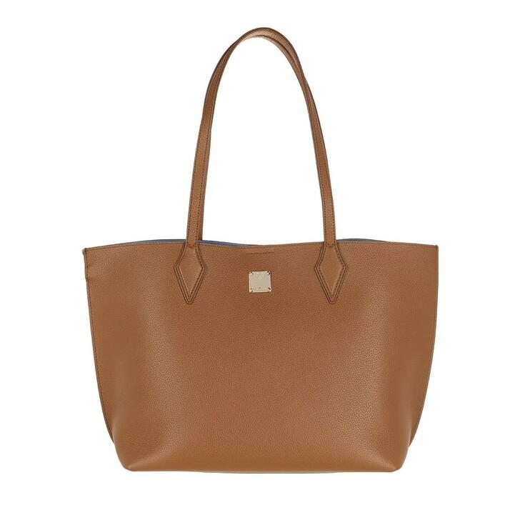 bags, MCM, Yris Shopper Medium Iron