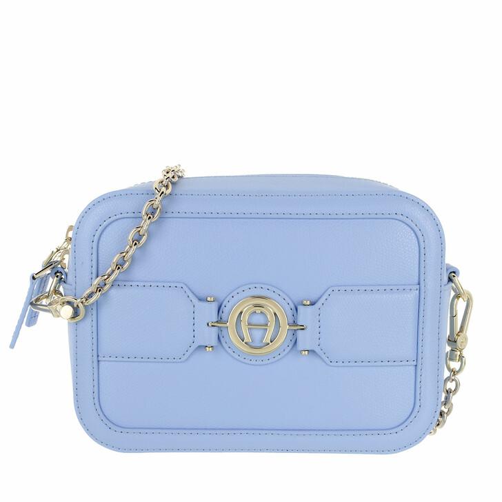 bags, AIGNER, Handle Bag Bellflower Blue