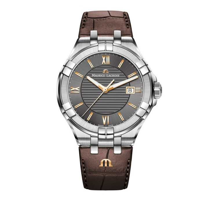watches, Maurice Lacroix, Watch Aikon Brown