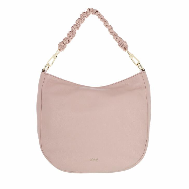 Handtasche, Abro, Dalia Lota Leather Hobo Small Powder
