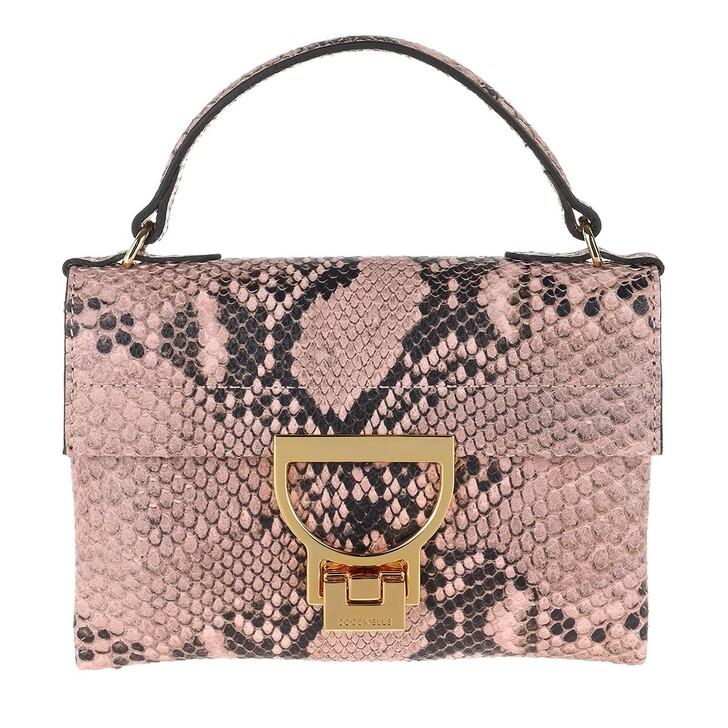 Handtasche, Coccinelle, Mignon Python Rose