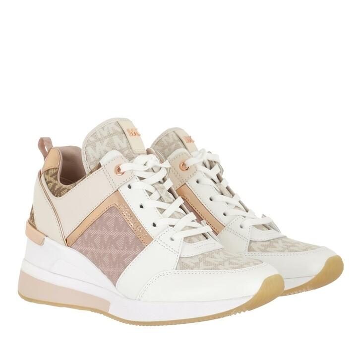 shoes, MICHAEL Michael Kors, Georgie Trainer Natural Multi