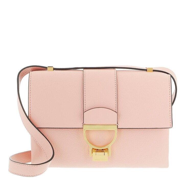 bags, Coccinelle, Arlettis Handbag Grainy Leather  New Pink