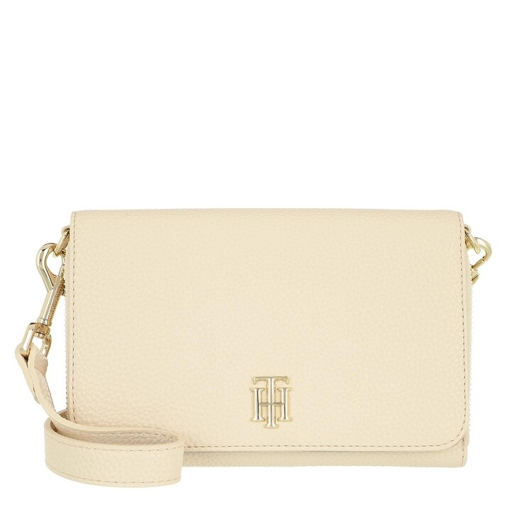 bags, Tommy Hilfiger, Tommy Hilfiger Soft Small Crossover Classic Beige