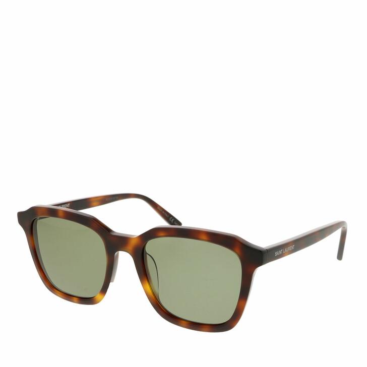 Sonnenbrille, Saint Laurent, SL 457-002 53 Sunglass UNISEX ACETATE HAVANA