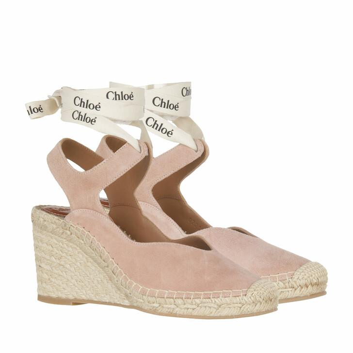 Schuh, Chloé, Espadrilles Maple Pink