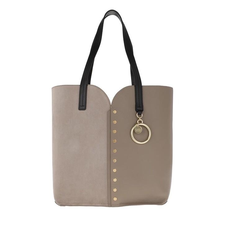 Handtasche, See By Chloé, Gaia Shopper Small Motty Grey