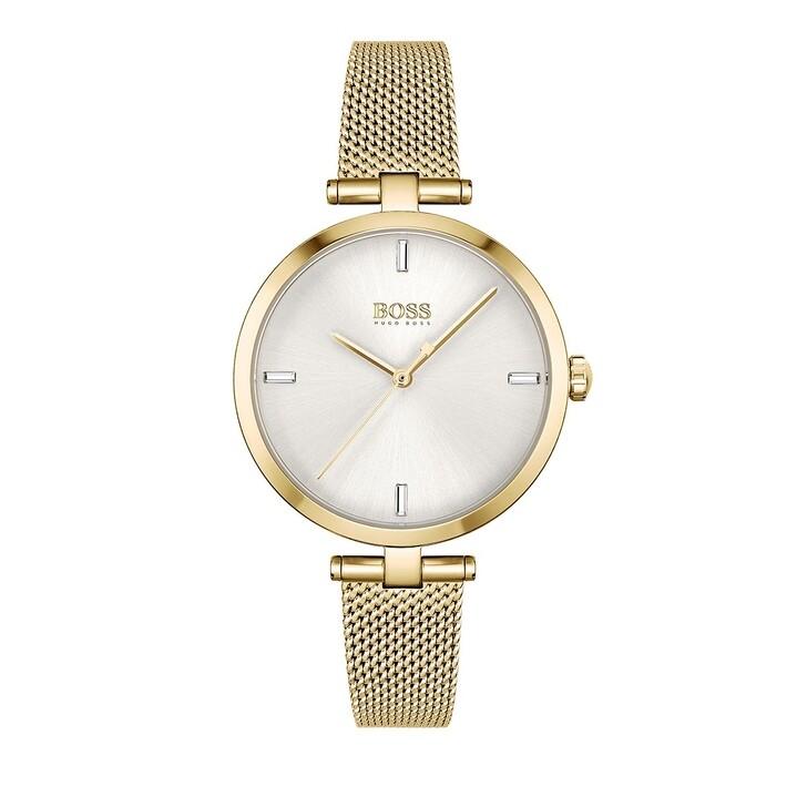 Uhr, Boss, Quarz watch Gold