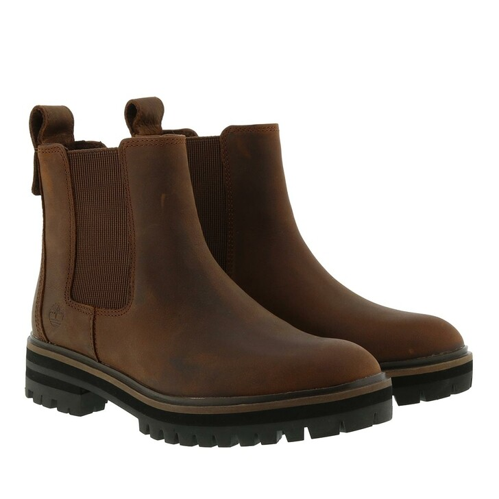 shoes, Timberland, London Square Double Gore Chelsea Boot Buckthorn Brown