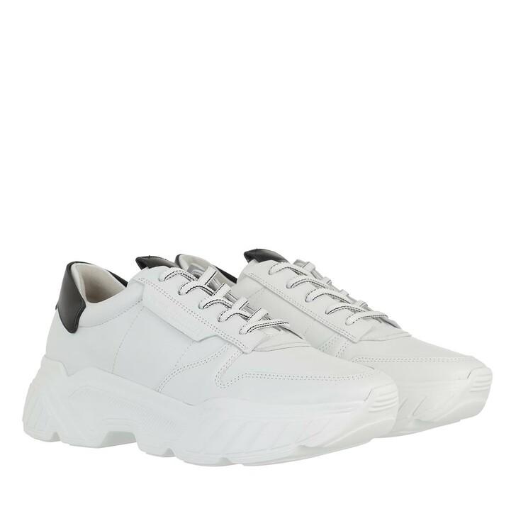 Schuh, Kennel & Schmenger, Boom Sneakers Calf Leather bianco/schw Sw