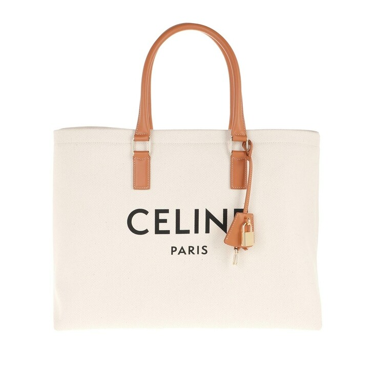 Handtasche, Celine, Horizontal Cabas Tote Bag Natural/Tan